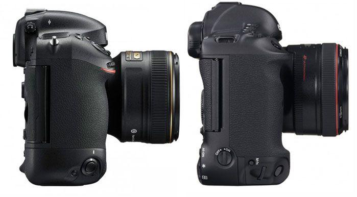 Nikon D4s и Canon EOS 1D X   cравнение топовых профессиональных фотокамер Ñ